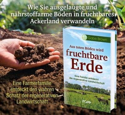 Aus toten Böden wird fruchtbare Erde